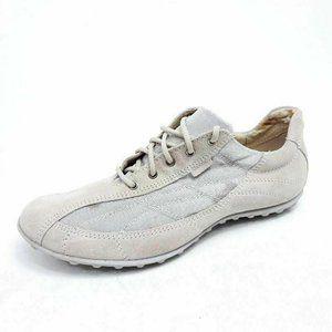 Geox Respira Womens 9 Athletic Shoes Beige Sneaker